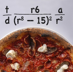 pizza math formula