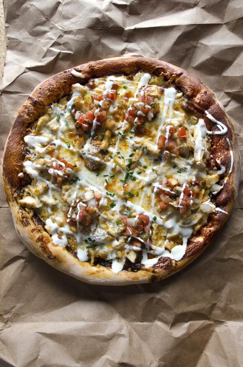 Chipotle Chicken Pizza