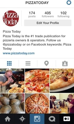 Pizza Today Instagram