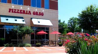 Pizzeria Orso, patio, exterior