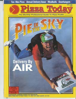 Pizza Today cover april 93