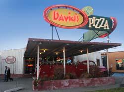 Davici's Pizza Exterior Facade