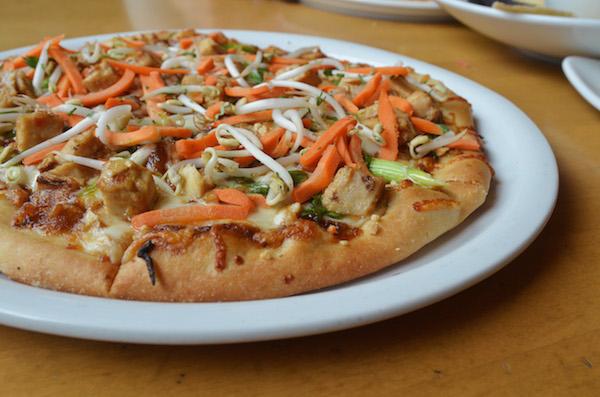 food allergy nut thai chicken pizza
