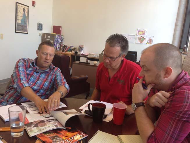 guest editor Brian Weavel art meeting