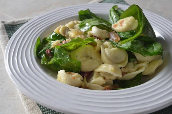 anna's spinach tortellini carbonara HORIZ
