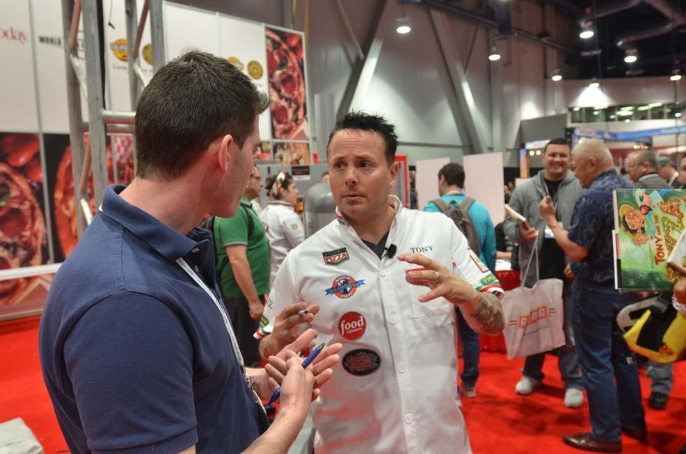 Tony Gemignani Pizza Expo