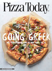 Pizza Today, April, 2015, cover, go greek