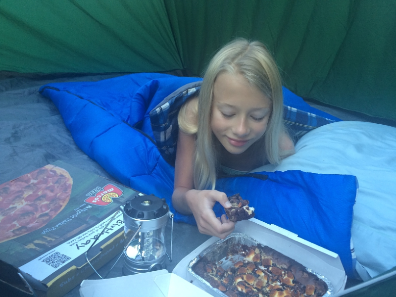 Saturday, June 27 is the Great American Backyard Campout, a day for kids to experience the wonders of camping.  Marco's Pizza is launching a fundraising campaign to help kids across the country participate in camping events by distributing 300,000 Camp Fundraiser Cards.  (PRNewsFoto/Marco's Pizza)