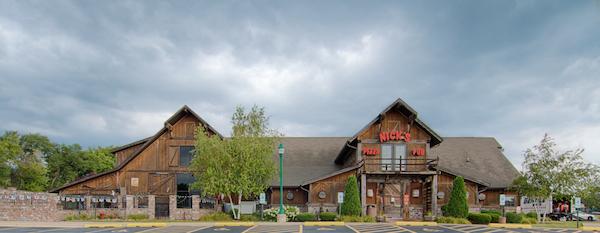 nick's pizza pub, elgin, illinois, pizzeria, exterior, nick sarillo