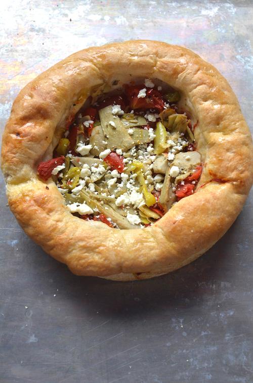 Feta & Sun-dried Tomato Focaccia