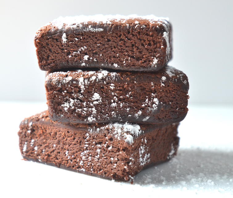 scratch chocolate brownies