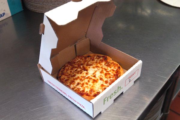 Fresh Brothers kid's pizza