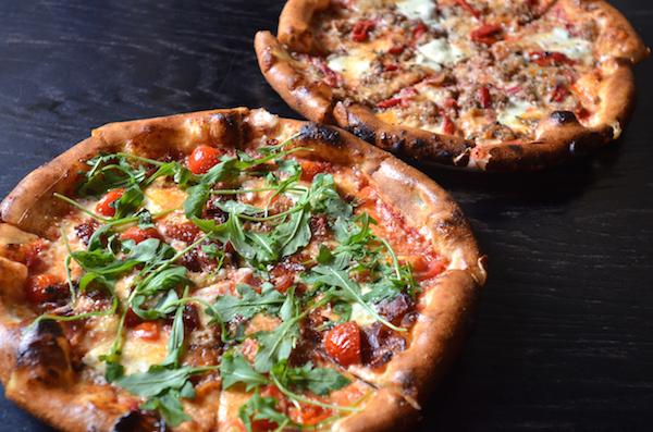 artisan pizzas