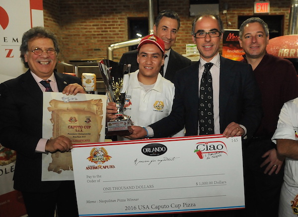 Jesus Solis - Forcella Brooklyn 1st Place Neapolitan Style USA Caputo Cup 2016 Photo by Tony DeFilippis