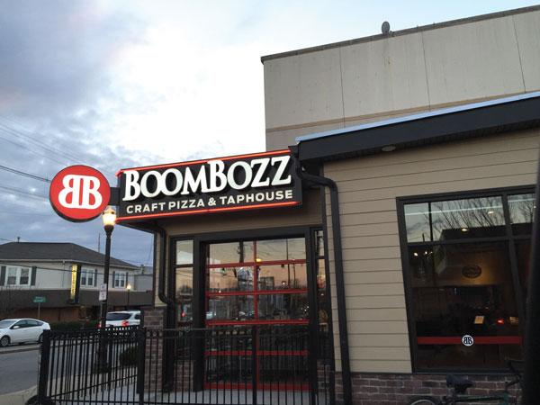 boomboz exterior signage