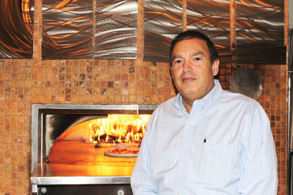 Mark Campagnolo, owner Ciao! Wood-fired Pizza & Pasta Ithaca, New York