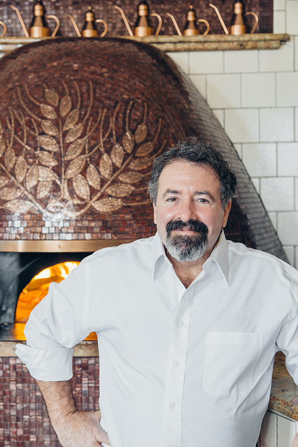 Jonathan Goldsmith, owner Spacca Napoli Pizzeria