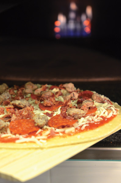 fast casual pizza oven