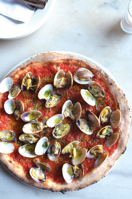 clam pizza
