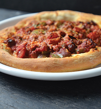 Lahmajoon-Style Pizza