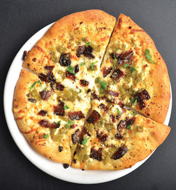 goat cheese pizza