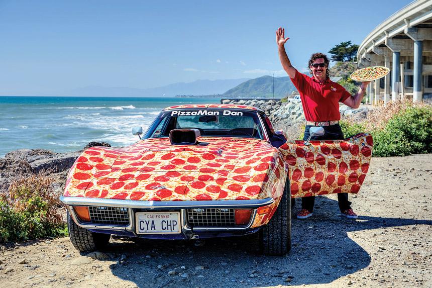 Dan Collier Owner, PizzaMan Dan's, Los Angeles, CA