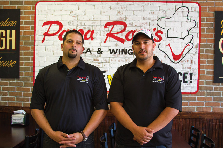 Co-owners John (left) and George Rayyan