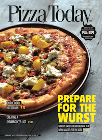 February 2017 Pizza Today Cover
