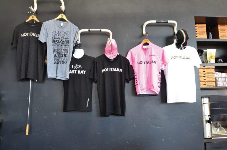 merchandise at Hot Italian, Sacramento, California