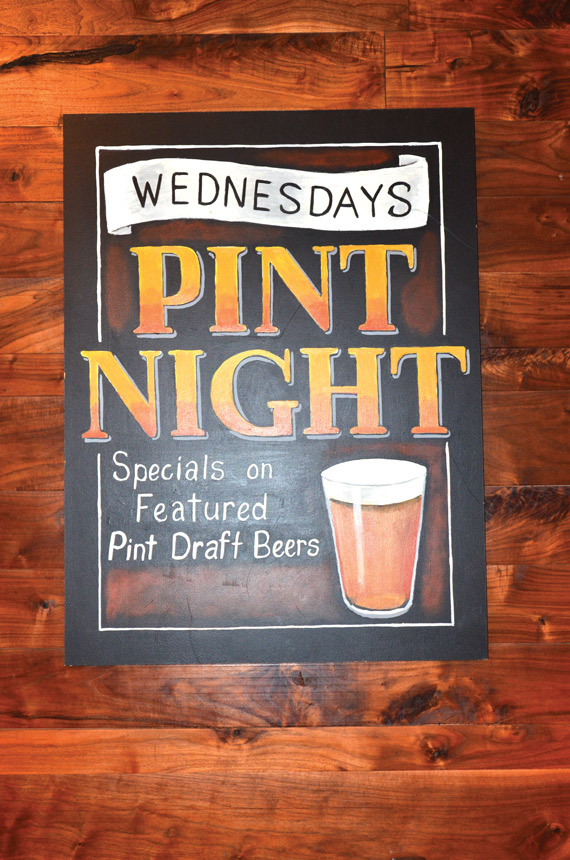 craft beer, pint night, promotion