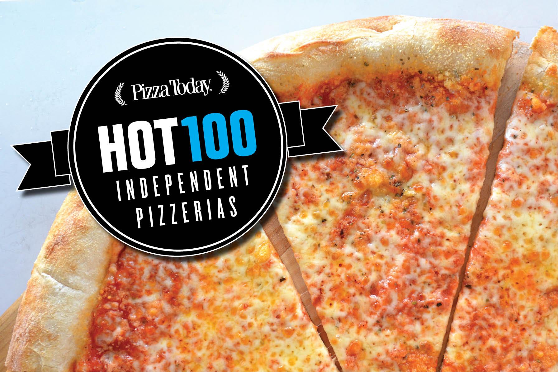 hot 100 independent pizzerias